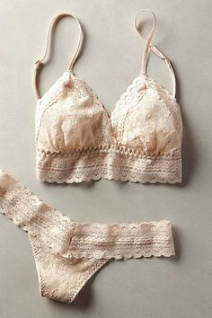 Eberjey Amaya Thong - anthropologie.com #anthrofave - apparel lingerie, lingerie glamour, bridal intimates *ad