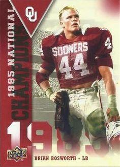 #BrianBosworth #44 #OU #Sooners #Football #BoomerSooner