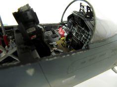 David Porter's online modelling portfolio; 1/32 Scale Tamiya F-15C Eagle