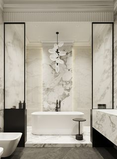 Bathtub, House Design, Toilets, Contemporary, Bath Room, Interior Design, Luxury, Inspiration, Ceiling