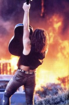 All Things Go Back To Bon Jovi..., Dat ass. Goin down…in a blaze of glory. Oh yeah.