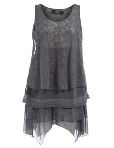 Lace plus-size tunic  Explore our amazing collection of plus size tops at http://wholesaleplussize.clothing/