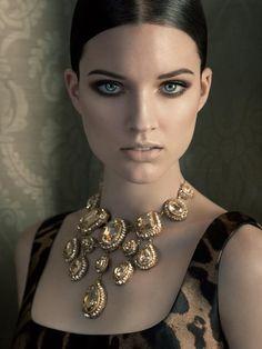 "journaldelamode: "" Corinna by Sandro Bäbler in Alexander McQueen for Fashion Gone Rogue """