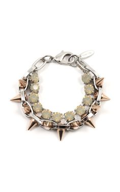4cd0828f981f Shine on Crystal  amp  Spike Bracelet with