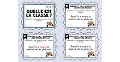 Ces cartes à tâches, en français, sont conçues pour aider les élèves à bien reconnaître chacune des huit classes de mots dans le but de les aider en écriture lors de la correction de leurs textes. Série 1 : déterminant/nom/adjectif/verbe/pronom Série 2 : déterminant/nom/adjectif/verbe/prono