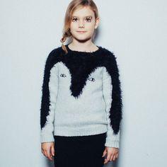 noé & zoë penguin sweater