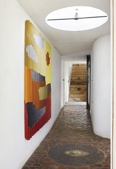 """Die Es is an architectural masterpiece and home, nothing has changes since 1965 when """"The Heart"""" was build by Gwendoline and Gabriel Fagan. Look inside the home of two love birds."""