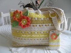 Bolsas de croche - YouTube