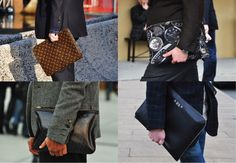 Envelop clutch men