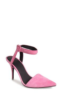 Alexander Wang 'Lovisa' Ankle Strap Pump (Women) available at #Nordstrom