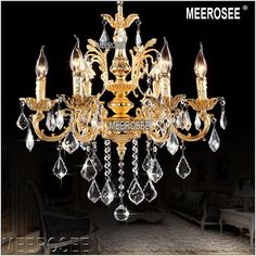 Cheap lamp design, Buy Quality lamp diamond directly from China lamp grid Suppliers: Classic 6 Arms Golden Clear Crystal Chandelier Light Fixture Crystal Lustre Hanging Lamp for Foyer Lobby Cheap Lamps, Cheap Chandelier, Crystal Chandelier Lighting, Lamp Design, Clear Crystal, Foyer, Light Fixtures, Ceiling Lights, Silver