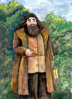Hagrid at Hogwarts