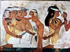 ancient egyptian woman tombs | ... Challenge: reproduce the following colors, with Ancient Egyptian art