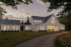 Farmhouse Style House Plan - 3 Beds 2.5 Baths 3038 Sq/Ft Plan #888-1 Exterior - Front Elevation - Houseplans.com