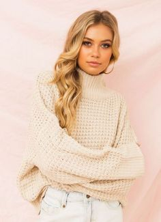 New Arrivals - Women's Cute Website, Turtle Neck, Sweaters, Fashion, Moda, Fashion Styles, Sweater, Fashion Illustrations, Sweatshirts