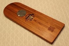 Beautiful 3 Track Cribbage Board. Solid Jatoba by SkagitWoodWorks
