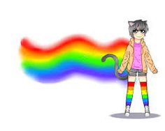 Resultado de imagen para nyan cat gif