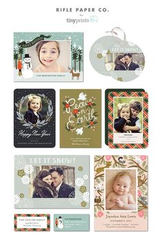 Rifle Paper Co. for tinyprints