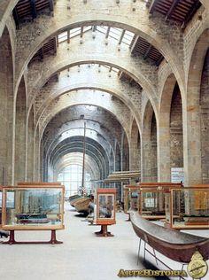 Atarazanas. Museu Maritim de Barcelona