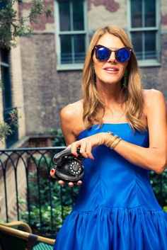 Inside the kooky, colorful and Dolce & Gabbana-filled closet of the street style all-star