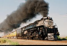 RailPictures.Net Photo: UP 3985 Union Pacific Steam 4-6-6-4 at Commerce City, Colorado by Greg Thompson