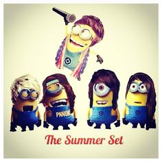 This Is Awesome love the summer set and minions
