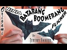 Batarang Boomerang Flicker - YouTube