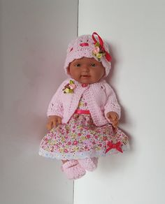 "Handmade Baby Dolls Clothes for 10""- 11""  Llorens  / Reborn doll"