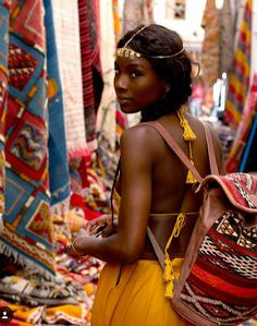 Nubian Queen And Gorgeous Melanin