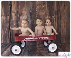 Missy B Photography: Blum Triplets 1 Year   Missy B Photography   San Francisco, CA Child Photographer