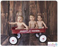 Missy B Photography: Blum Triplets 1 Year | Missy B Photography | San Francisco, CA Child Photographer