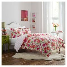 Buffy Comforter Set - Pink - Poppy & Fritz®