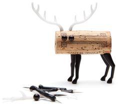 Scopri Decorazione Corker Cerf -/ Per tappo di sughero, Cervo di Pa Design, Made In Design Italia
