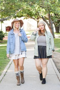 Fall Fashion on Campus featuring SOREL boots - Major Carly combat + Major Low ankle