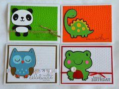 Create A Critter Cards
