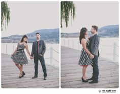 red apple tree photography: Nathan + Jennifer Engagement, Kelowna BC Canada
