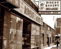 Rideau Bakery, nothing changed since 1930. Rideau Bakery rye, nothing like it.