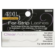 45a572a4c0c Ardell LashGrip Eyelash Adhesive, Clear 0.25 oz Ardell https://www.amazon