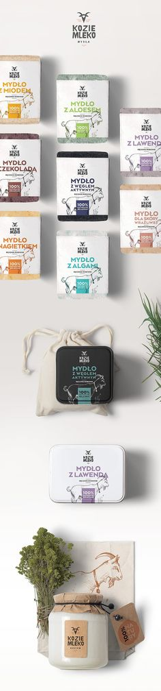 Kozie Mydła / Goat Milk (Concept) on Packaging of the World - Creative Package Design Gallery