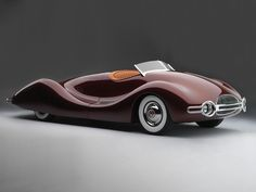1948 Buick Streamliner, the only one of its kind. Built over a period of 2.5 years by mechanical engineer Norman E. Timbs.