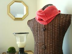 CORAL Infinity Scarf Upcycled Cashmere Infinity Scarf by WormeWoole