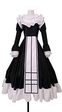 Dreamcosplay Anime Gosick Victorique Black Dress Cosplay *** Check out the image by visiting the link.