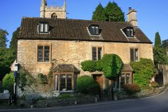 House in Castle Combe .Photo Credit