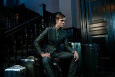 "Australian Model Jordan Coulter in ""The Scholar"" by Florian Renner for Phoenix Magazine January 2013"