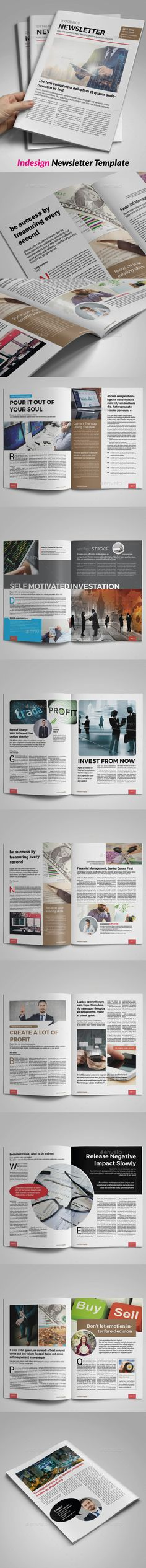 Corporate Business Newsletter  Corporate Business Print