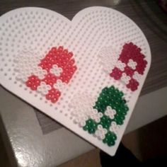 Christmas ornaments hama beads by nimtyel