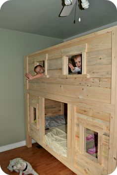 1000 images about bunk beds on pinterest kid loft beds for How to make a high bed