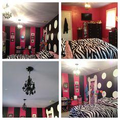 From tween to teen bedroom