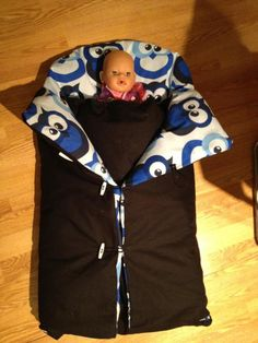 Er noen som har etterlyst en oppskrift av vognposen jeg har laget til lillebror som kommer i febr...
