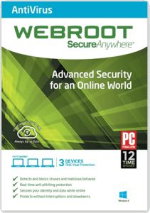 Webroot SecureAnyWhere Antivirus 2016 Keycode Serial Crack